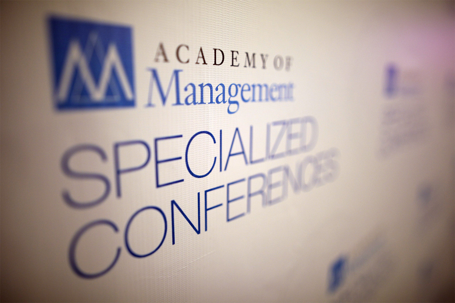 AOM Specialized Conferences